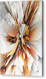 Acrylic Print featuring the digital art Sculptural Series Digital Painting 22.120210eext290lsqx2 by Kris Haas