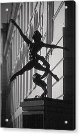 Sculpture London  Acrylic Print by Douglas Pike