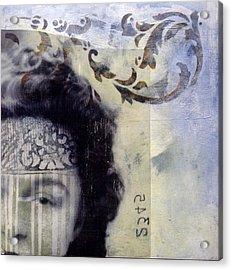 Scuttlebutt Acrylic Print by Susan McCarrell