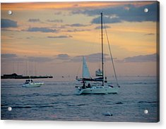 Sd Sunset 3 Acrylic Print