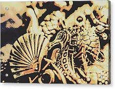 Sea Abstract From The Nautics  Acrylic Print
