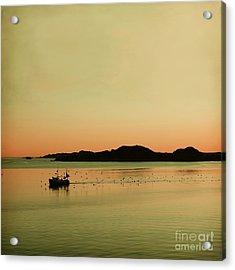 Sea After Sunset Acrylic Print