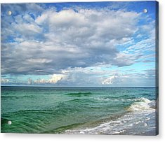 Sea And Sky - Florida Acrylic Print