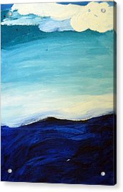 Sea And Sky Acrylic Print