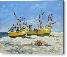Sea Beach 2 - Baltic Acrylic Print