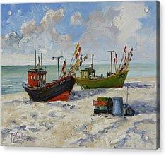 Sea Beach 3 - Baltic Acrylic Print