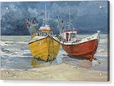 Sea Beach 5 - Baltic Acrylic Print