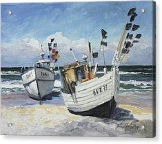 Sea Beach 9 - Baltic Acrylic Print