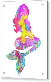 Ariel  The Little Mermaid Acrylic Print