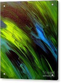 Sea Breeze Abstract Acrylic Print by Shelly Wiseberg
