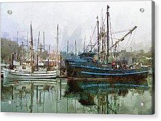 Sea Breeze And Lady Law Acrylic Print