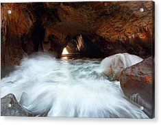 Sea Cave Acrylic Print