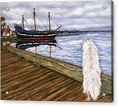 Sea Dog Acrylic Print