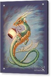Sea Dragon And Lantern Acrylic Print