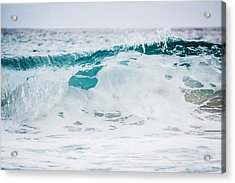Sea Foam Acrylic Print by Shelby Young