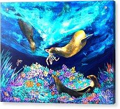 Sea Garden  Acrylic Print by Dianne Roberson