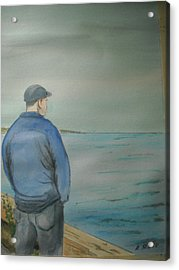 Sea Gaze Acrylic Print by Anthony Ross