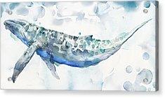 Sea Giant Acrylic Print by Mauro DeVereaux