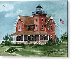Sea Girt Lighthouse Acrylic Print by Nancy Patterson