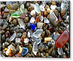 Sea Glass Beauty Acrylic Print
