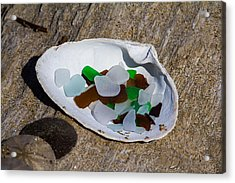Sea Glass Treasure  Acrylic Print