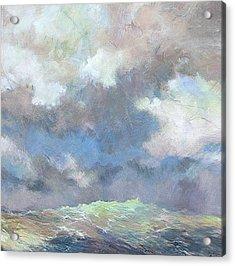 Sea Glow Acrylic Print by Marilyn Muller