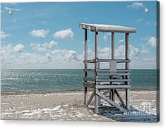 Sea Gull Beach #2 Acrylic Print