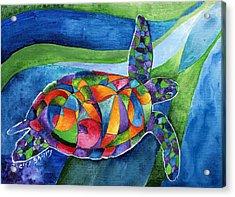 Sea Gypsy Acrylic Print by Sherry Shipley
