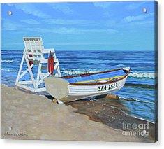 Sea Isle Beach Patrol Acrylic Print