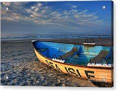 Sea Isle City Lifeguard Boat Acrylic Print