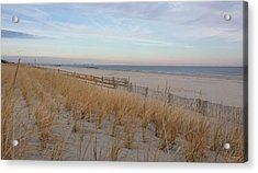 Sea Isle City, N J, Beach Acrylic Print