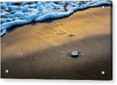 Sea Layers Of Colors Acrylic Print