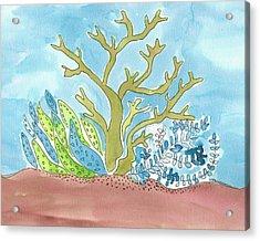 Sea Life I Acrylic Print