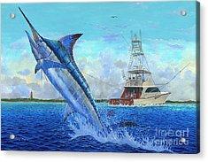 Sea Lion Acrylic Print by Carey Chen