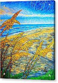 Sea Oats Dual#2 Acrylic Print