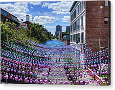 Sea Of Color Acrylic Print