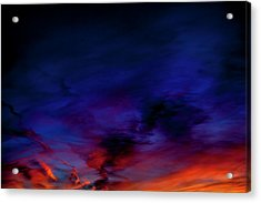 Acrylic Print featuring the photograph Sea Of Colors by Eric Christopher Jackson