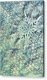 Sea Of Flakes Acrylic Print