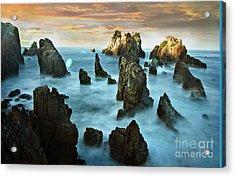 Sea Of Lampung Shark Teeth Acrylic Print