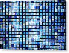 Sea Of Tiles Acrylic Print by Brandon Tabiolo - Printscapes
