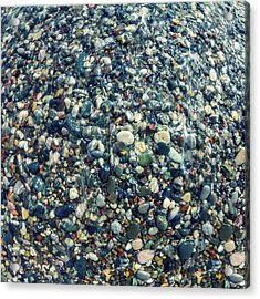 Sea Pebbles2 Acrylic Print