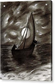 Sea Queen Of Connacht Acrylic Print by C Nick