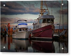 Acrylic Print featuring the photograph Sea Rake by Randy Hall