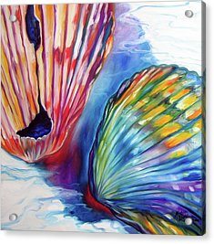Sea Shell Abstract II Acrylic Print
