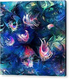 Sea Shells Acrylic Print by Rachel Christine Nowicki