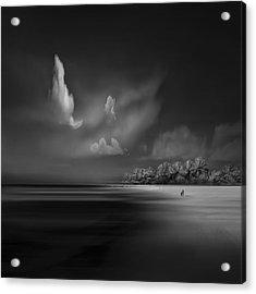 Sea Shore View Acrylic Print