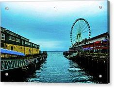 Sea Side, Seattle 2 Acrylic Print