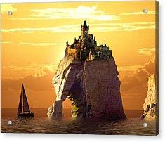 Sea Stack Acrylic Print
