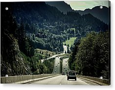 Sea To Sky Highway Acrylic Print