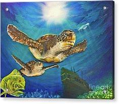 Sea Turtle IIi Acrylic Print